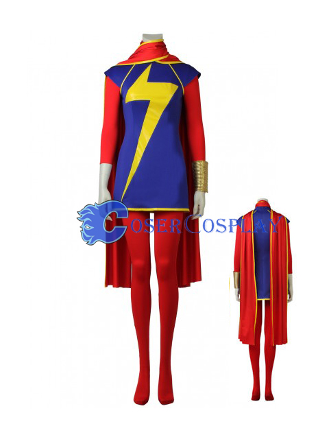 Ms Marvel Kamala Khan Creative Halloween Costumes