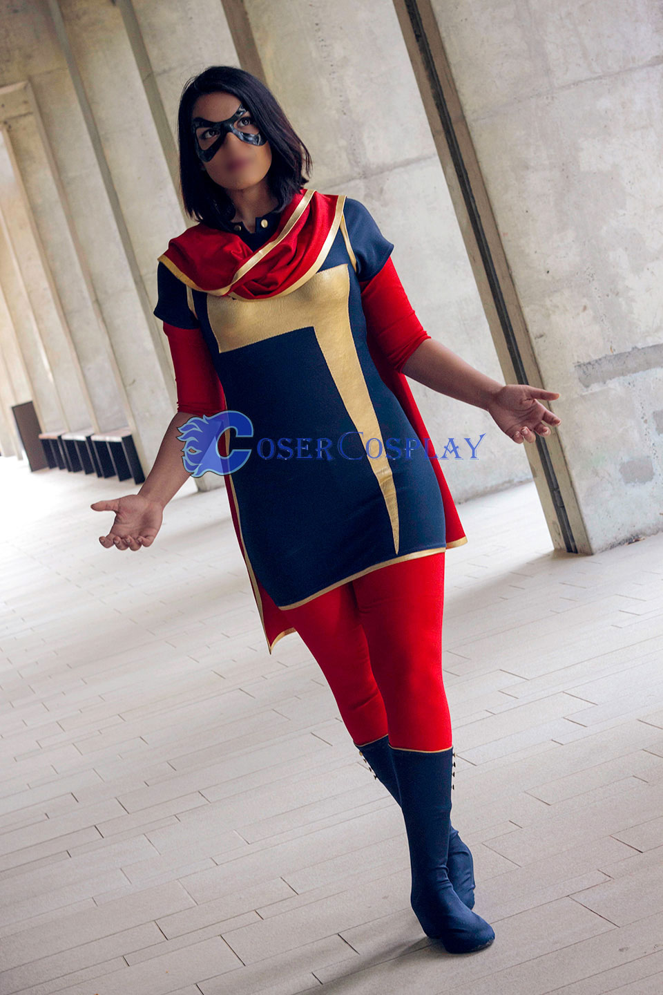 Ms Marvel Kamala Khan Easy Halloween Costumes
