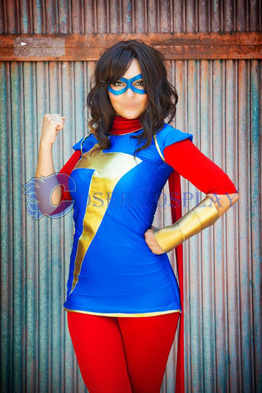 Ms Marvel Kamala Khan Halloween Costume Ideas