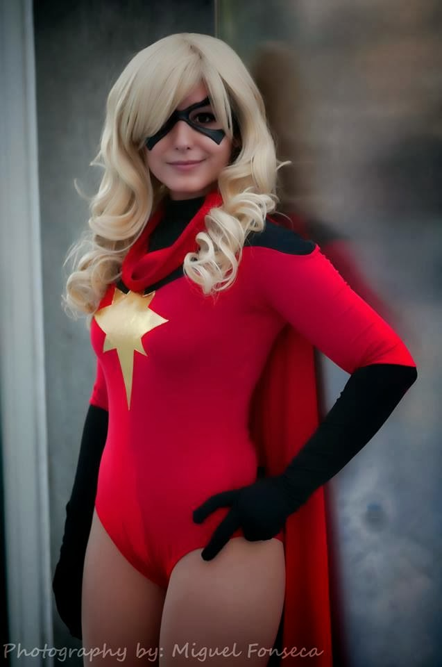 Ms.Marvel Carol Danvers Bodysuit For Halloween Nights
