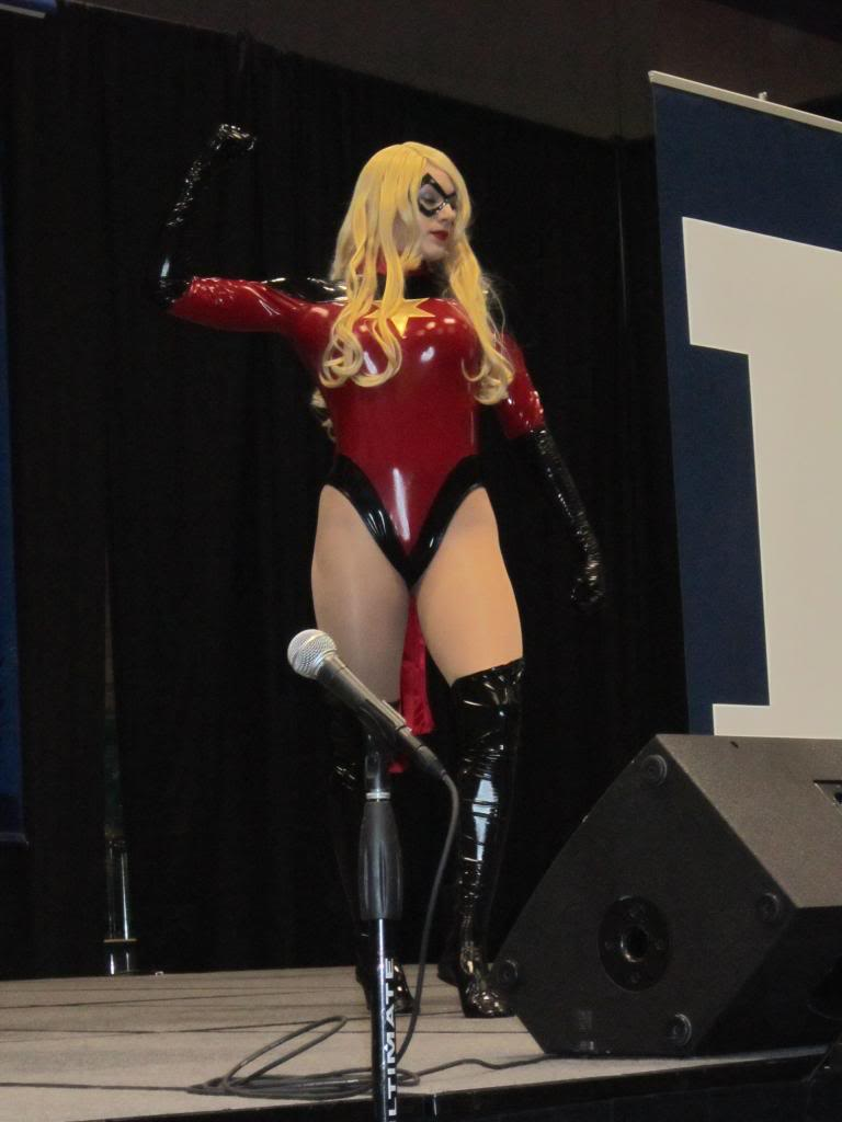 Ms.Marvel Carol Danvers PVC Cosplay Costume Sexy