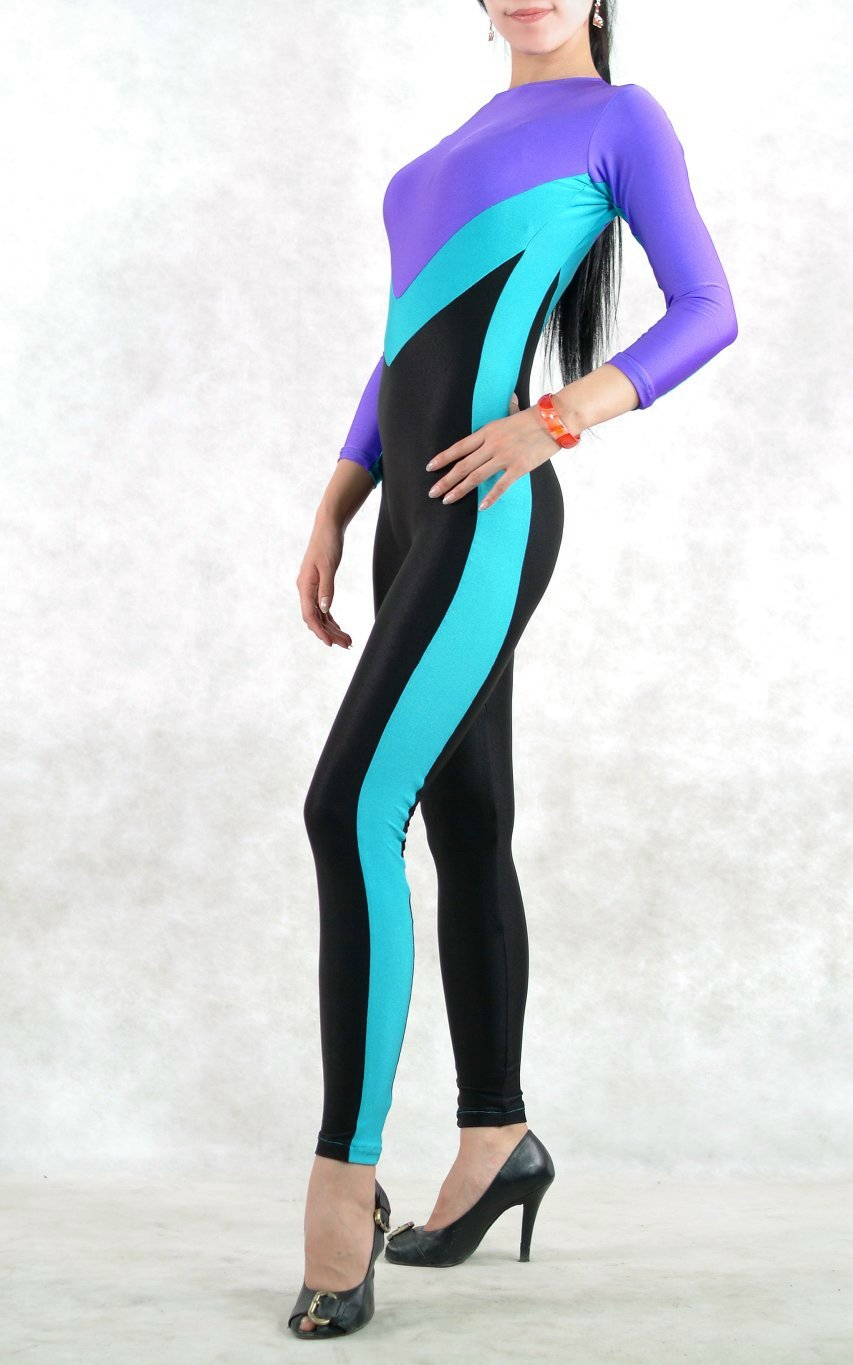 Multi Color Lycra Spandex Catsuits