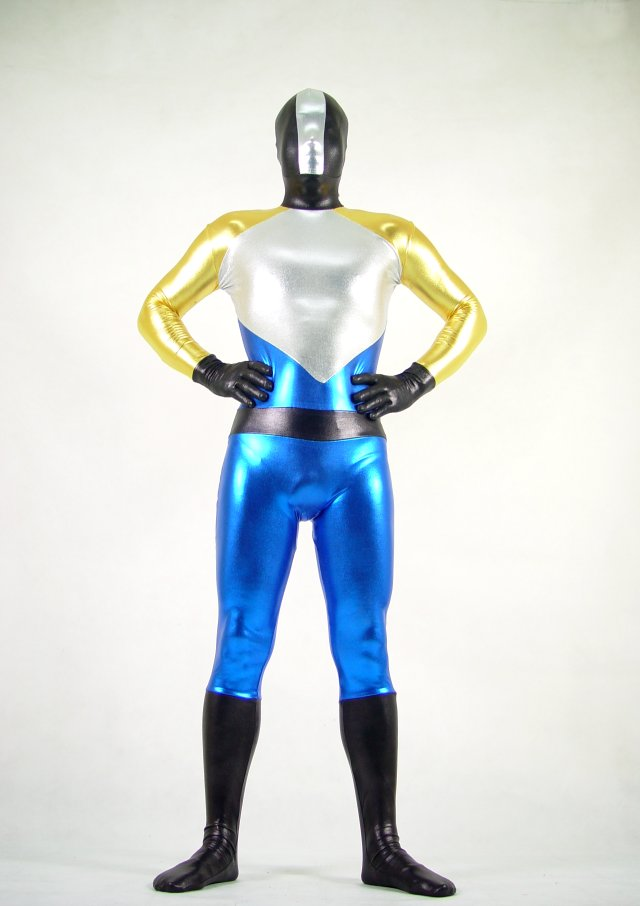 Multi Color Shiny Halloween Costume Ideas Zentai