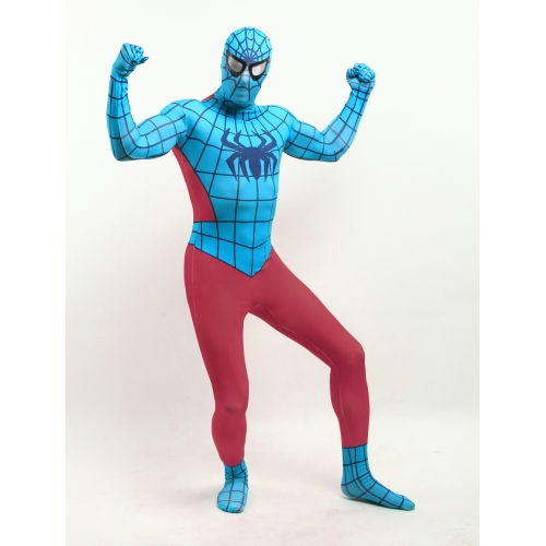 Multi Color Spiderman Halloween Costume
