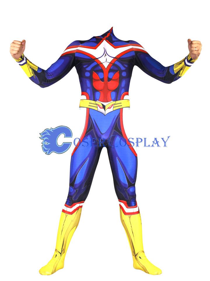 My Hero Academia All Might Cosplay Costume Men