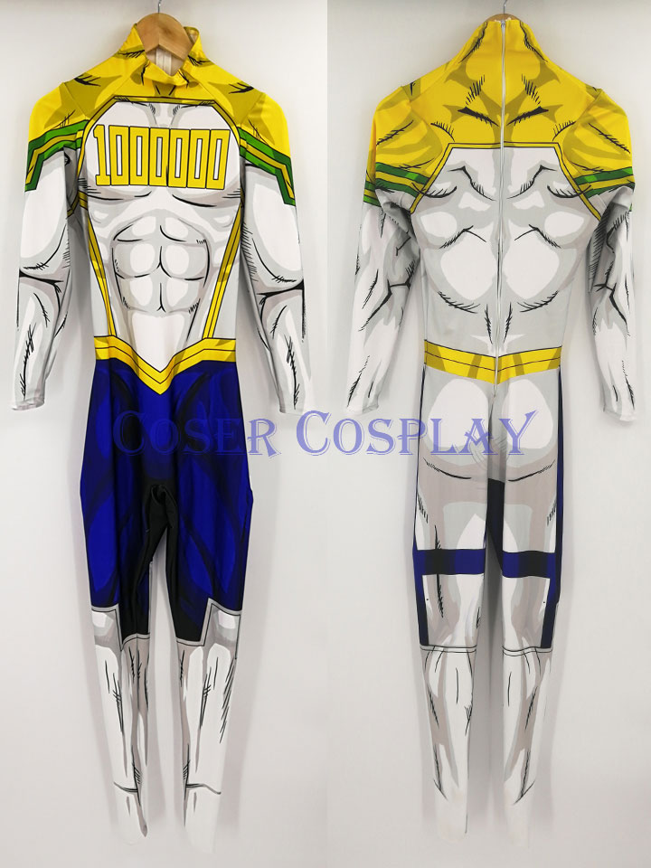 My Hero Academia Million Million Mirion Kid Costume Halloween 0826