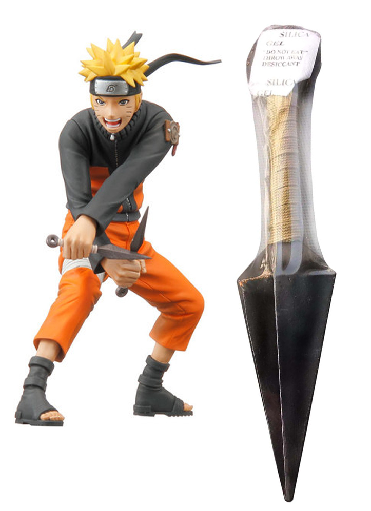 Naruto Grey Kunai Cosplay Weapons