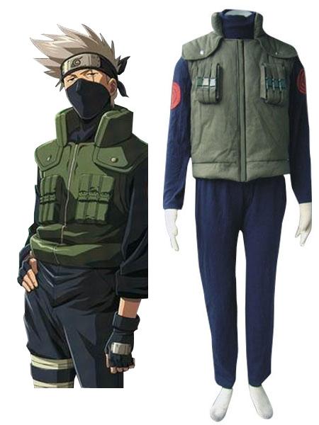 Naruto Hidden Leaf Village Of Konoha Jounins Uniform Cosplay Costume