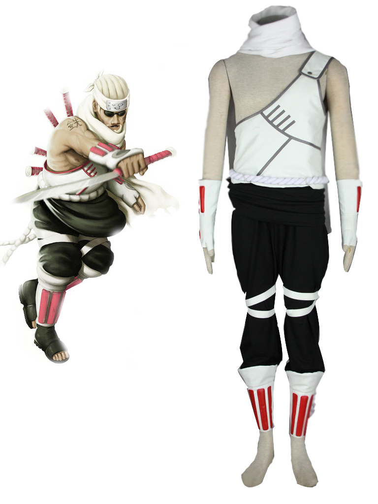 Naruto Killer Bee Cosplay Costume