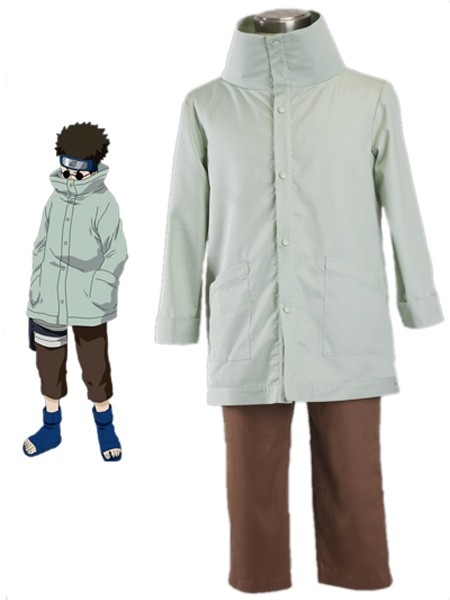 Naruto Shino Cosplay Costume