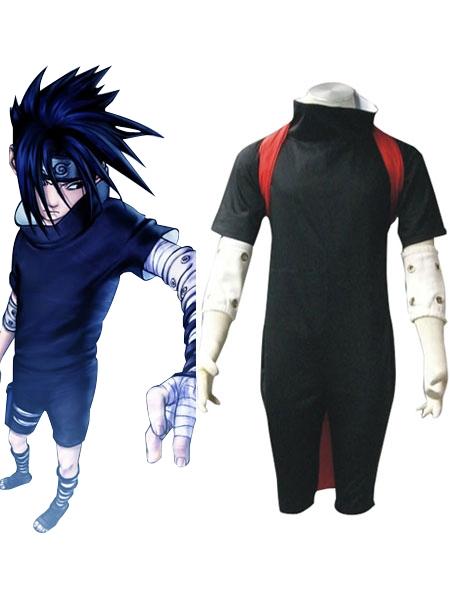 Naruto Uchiha Sasuke Black Cosplay Costume | cosercosplay.com
