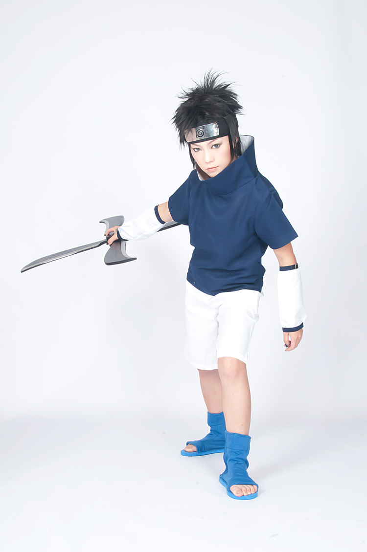 Naruto Youth Sasuke Uchiha Cosplay Costume