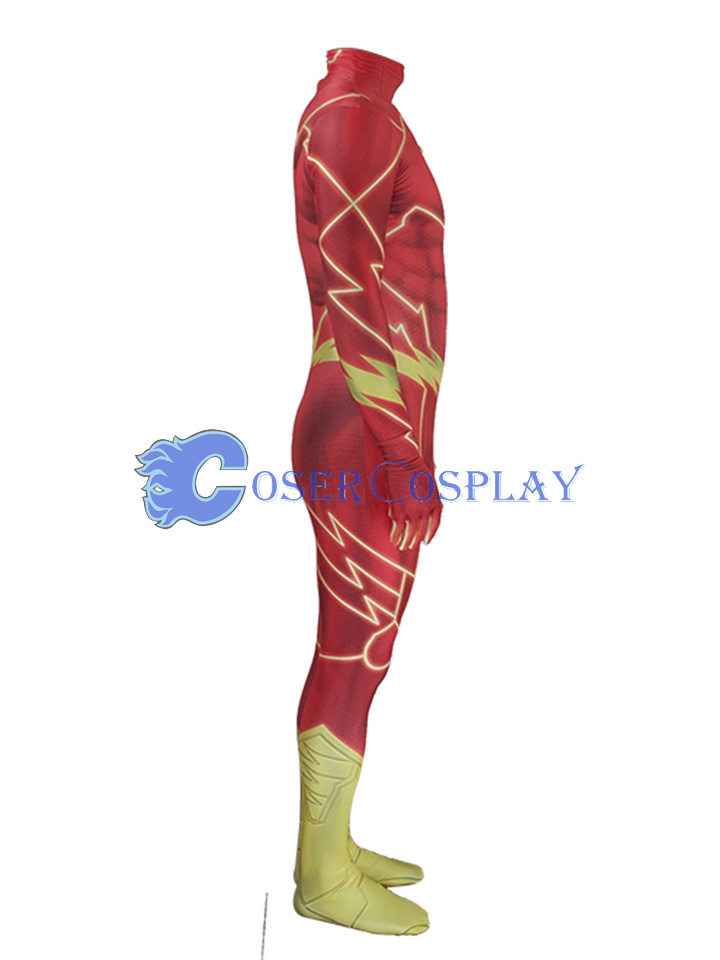 New 52 The Flash Sexy Catsuit Halloween Costumes