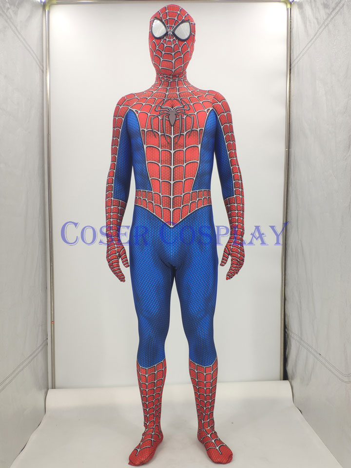 New Design Spiderman Cosplay Costume Kids Halloween 0828