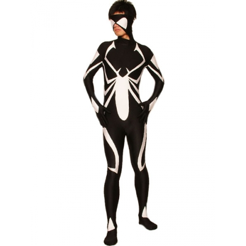 New Style Black Spiderman Costume