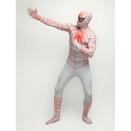 New Zentai Adult Spiderman Halloween Costume