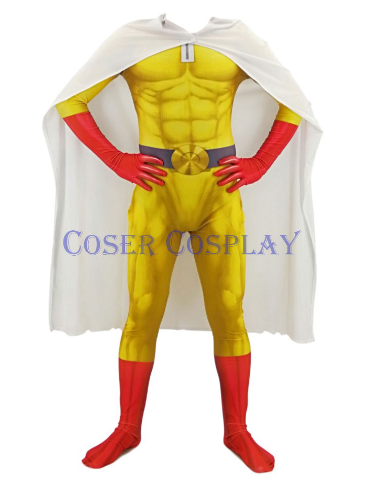 ONE PUNCH-MAN Halloween Costumes For Men Kids 0911