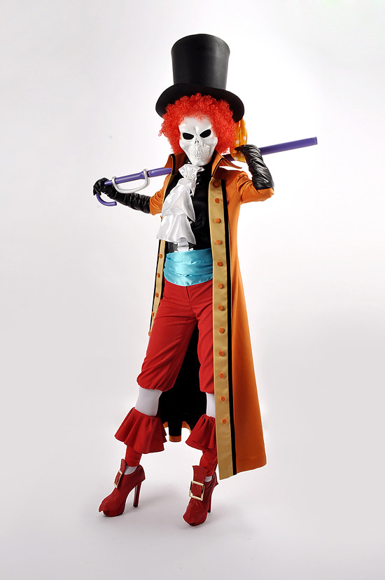 One Piece Film Z Dead Bones Brook Cosplay Costume