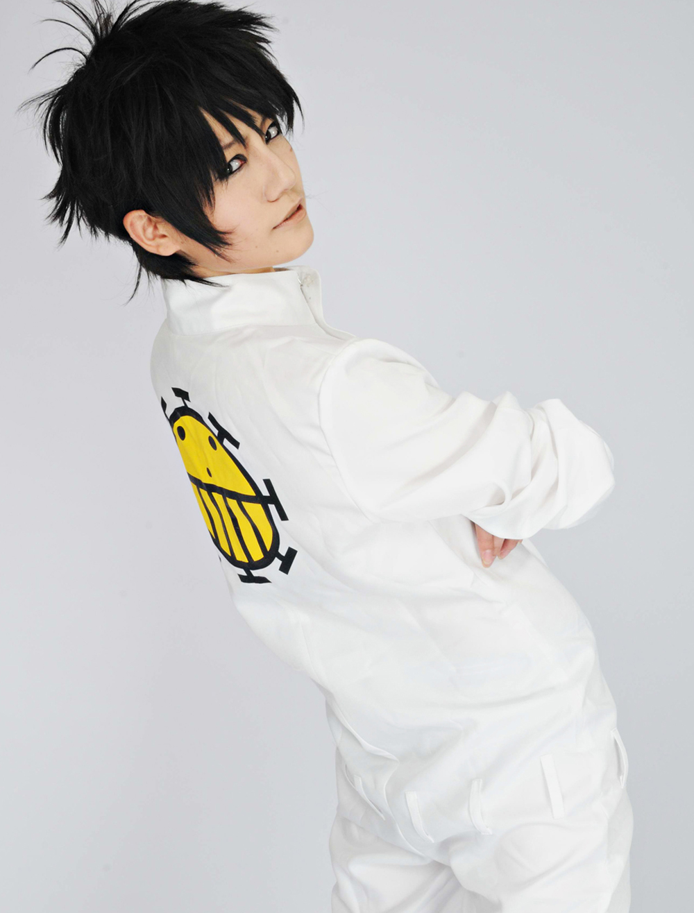 One Piece Heart Pirates White Uniform Cosplay Costume