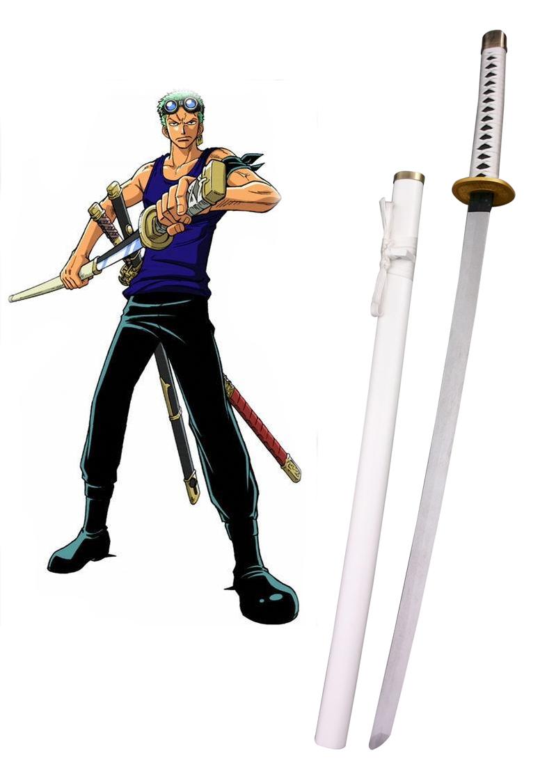 One Piece Roronoa Zoro Three Sword Style Cosplay Wooden Weapons