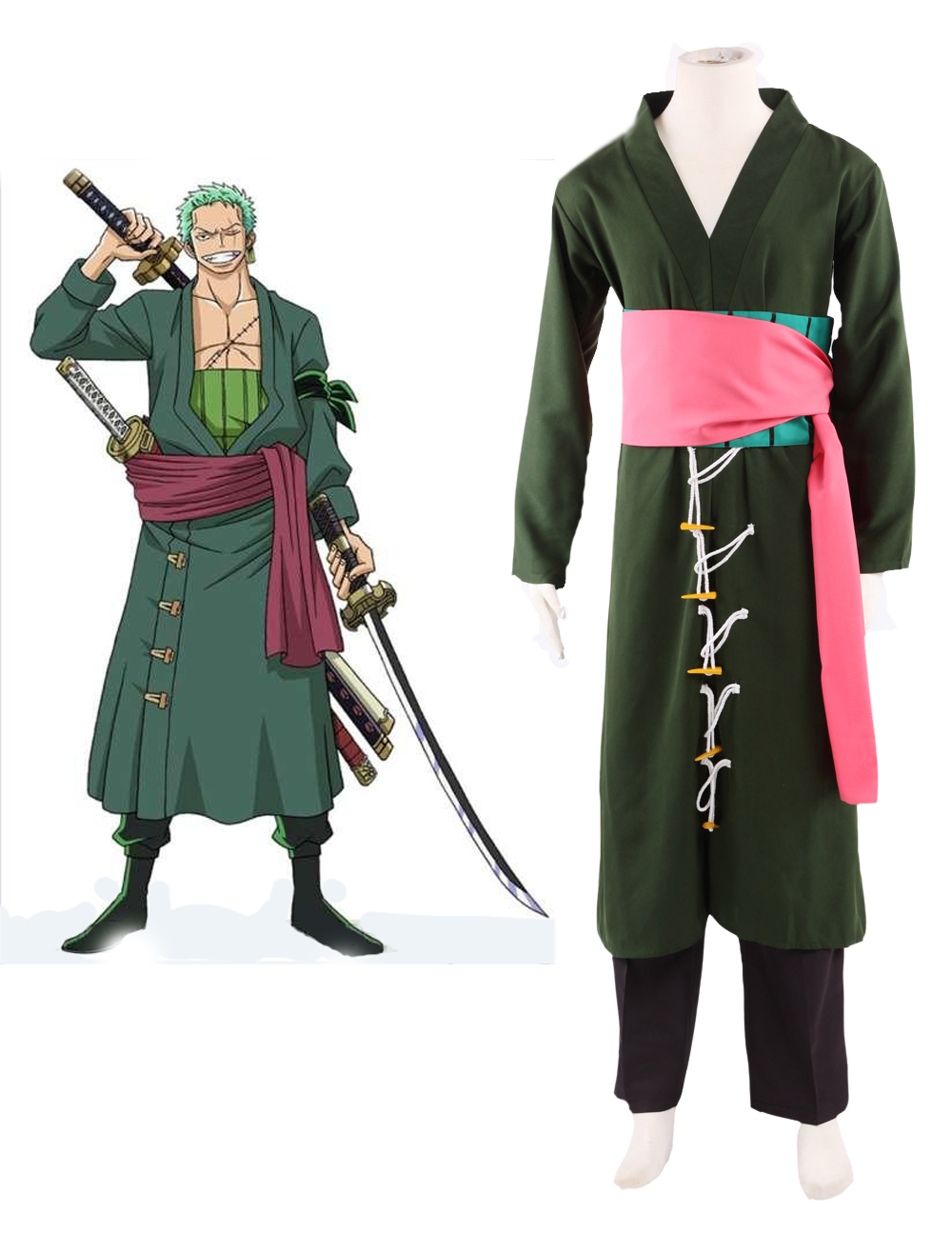 One Piece Roronoa Zoro Two Years After C