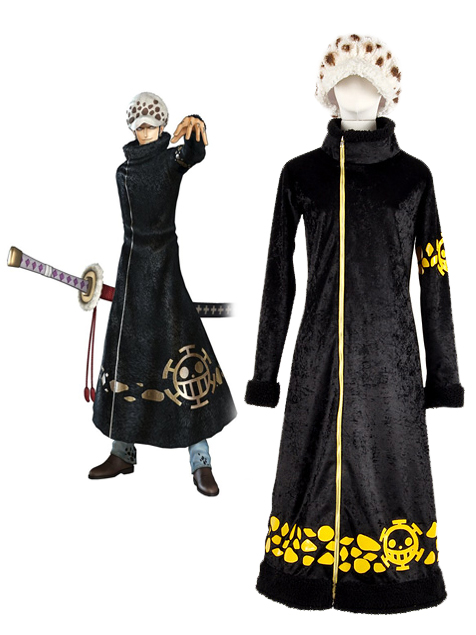One Piece Surgeon of Death Trafalgar Law Two Years Latter Cosplay Costume