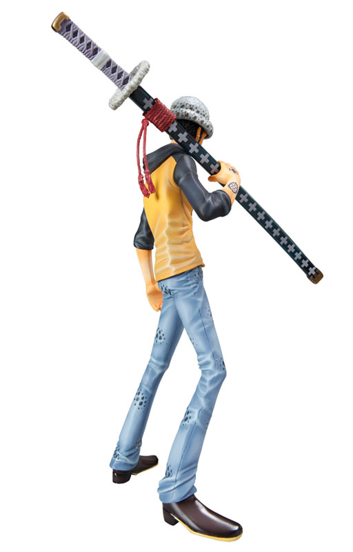One Piece Trafalgar Law White Sword Cosplay Wooden Weapons