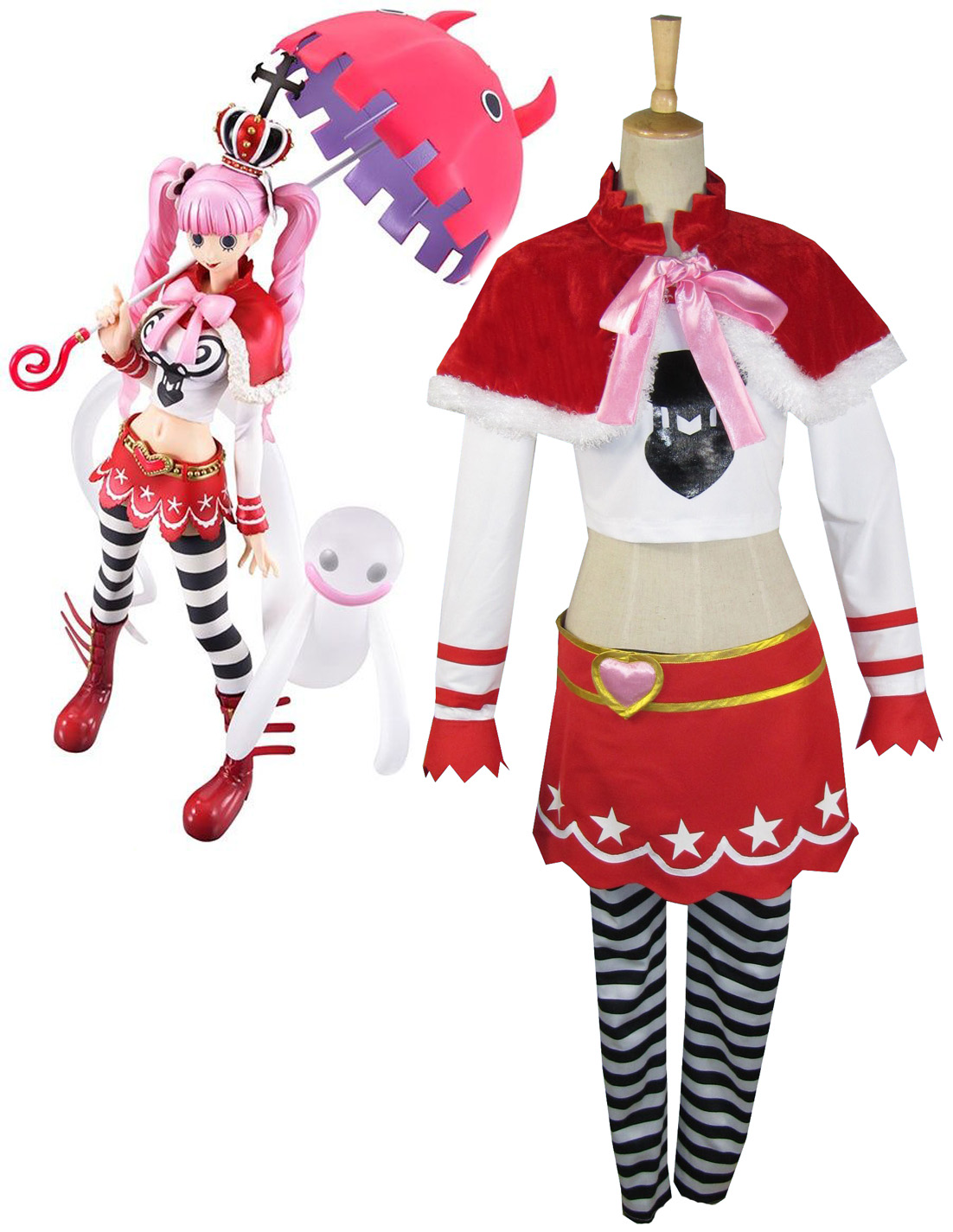 One piece Ghost Princess Perona Two Years Ago Cosplay Costume