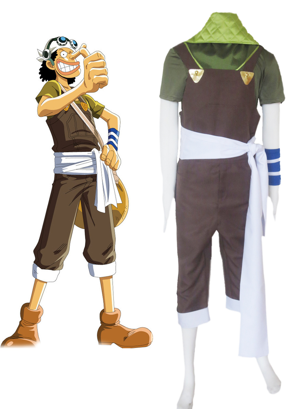 One Piece King Of Snipers Sniper King Usopp Two Years Ago Cosplay