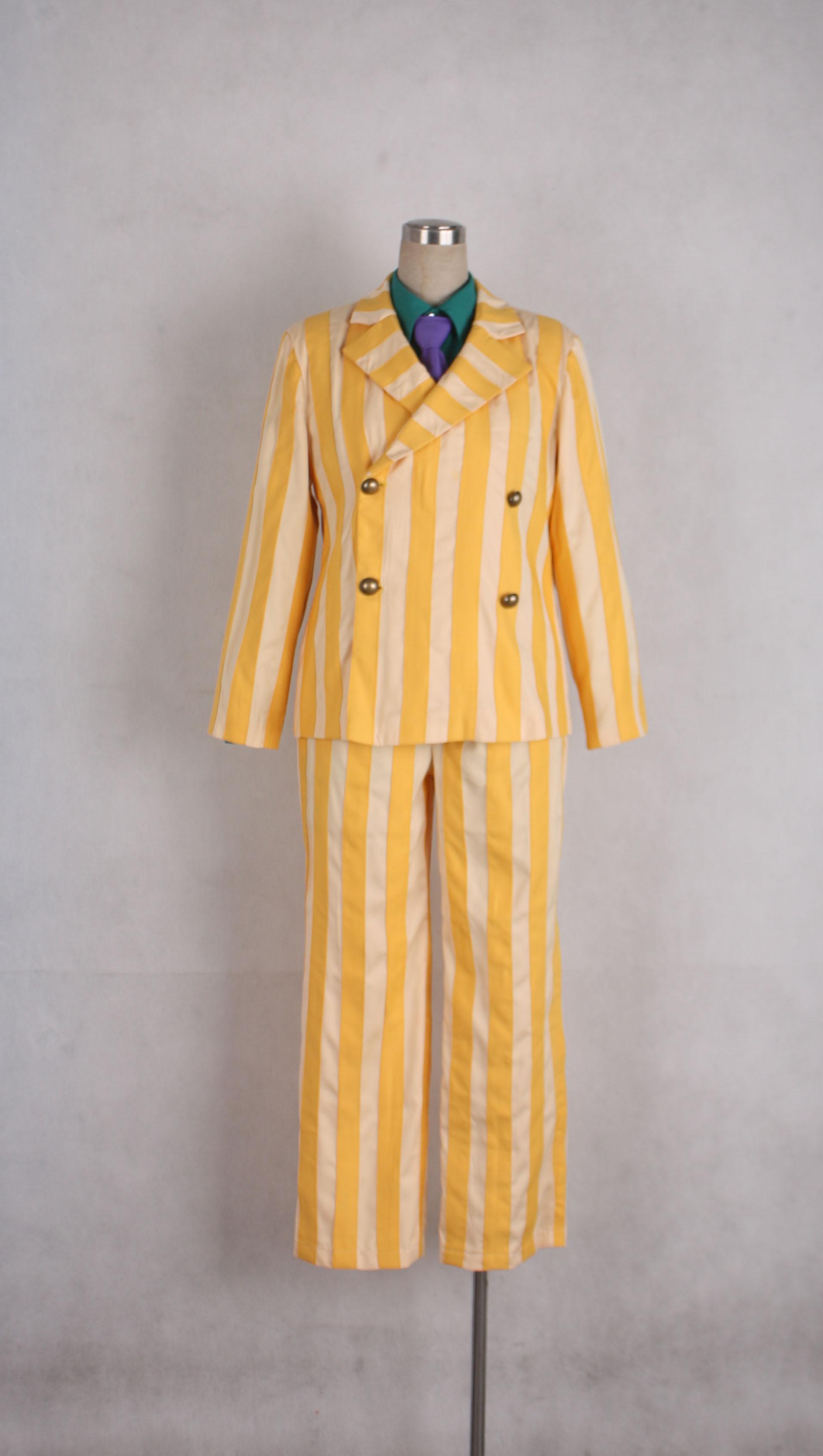 One piece Kprusoian Yellow Monkey Navy Admiral Uniform ...