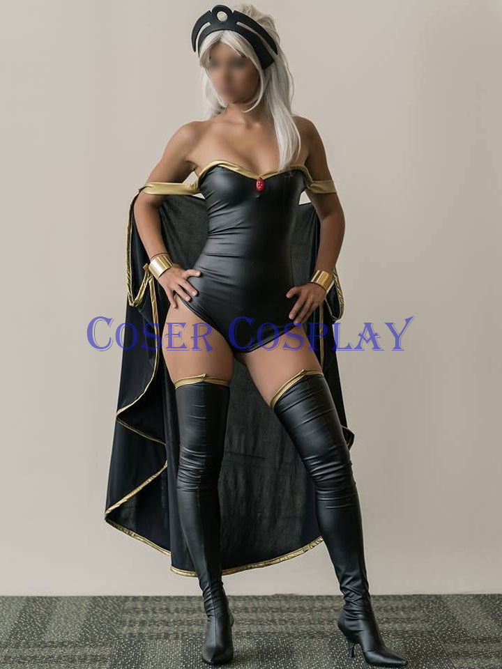 Ororo Munroe Storm Cosplay Costume Halloween X Men 0916