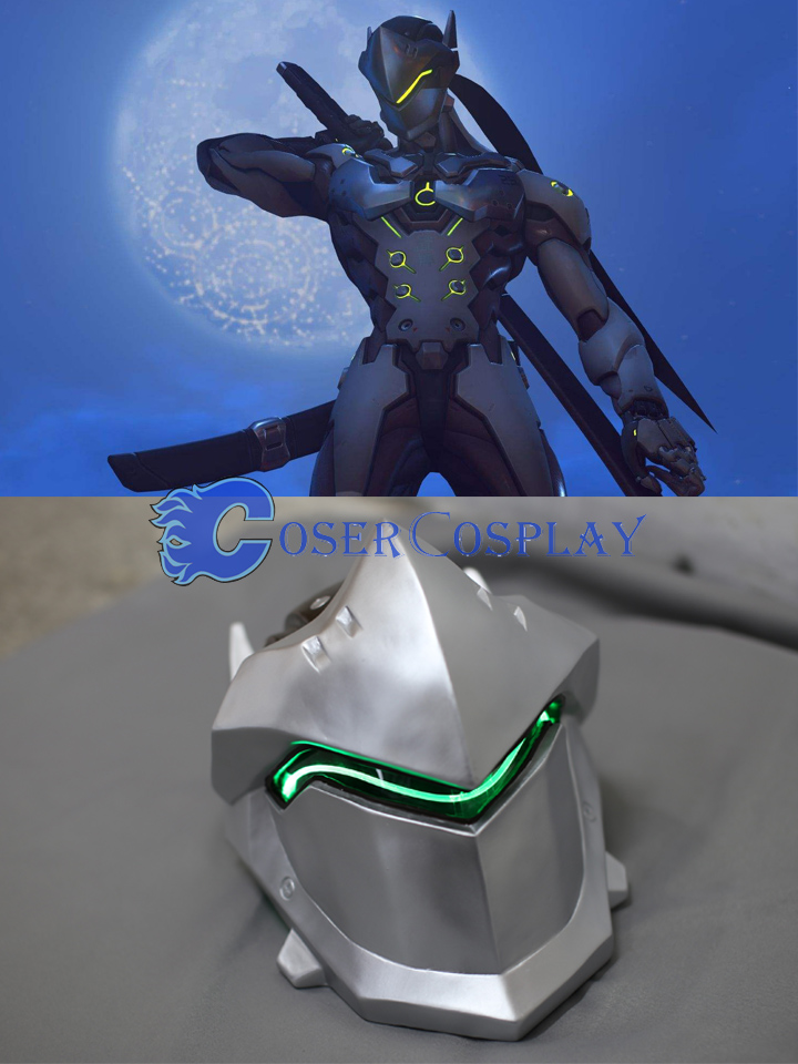 Overwatch OW Gaku Space Genji Mask Cosplay Accessories