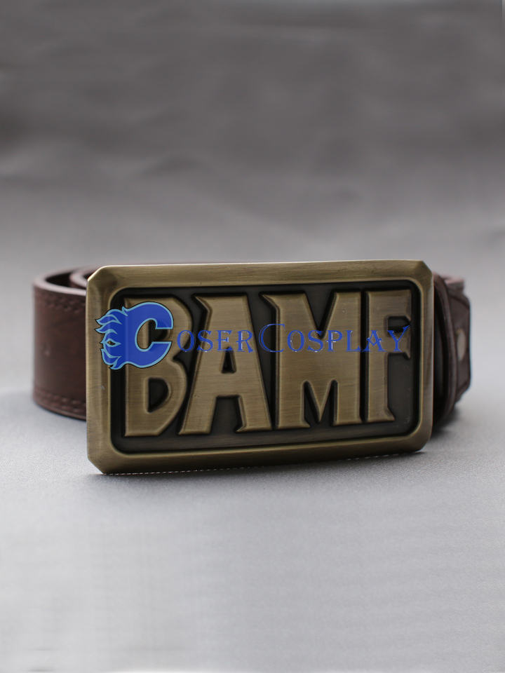 Overwatch OW Jesse Mccree Belt Cosplay Accessories