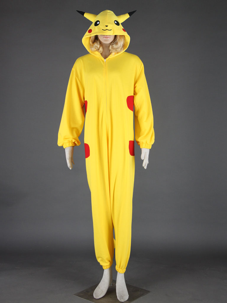 Pocket Monster Pikachu Cosplay Costume