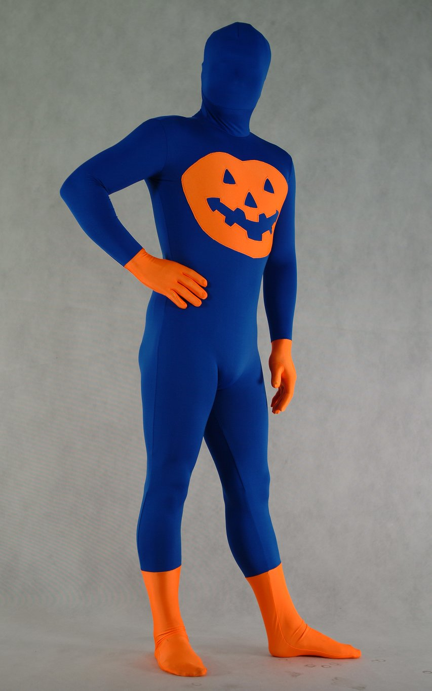 Pumpkin Halloween Costumes Zentai Suit