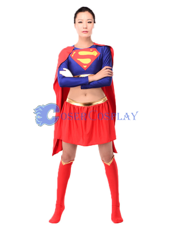 Quality Supergirl Cosplay Costume