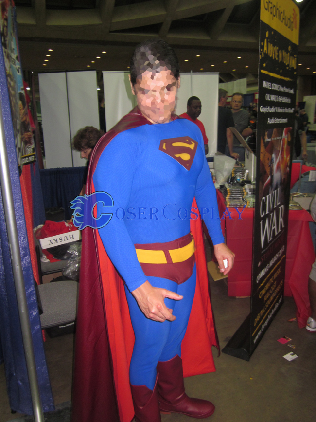 Quality Superman Halloween Costume Superhero Capes