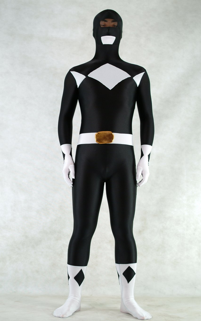 Ranger Halloween Costumes Zentai Black