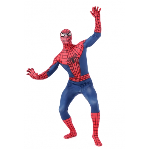 Red Classic Zentai Spiderman Costume