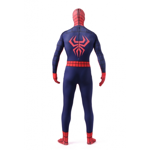 Red Full Body Spandex Spiderman Zentai