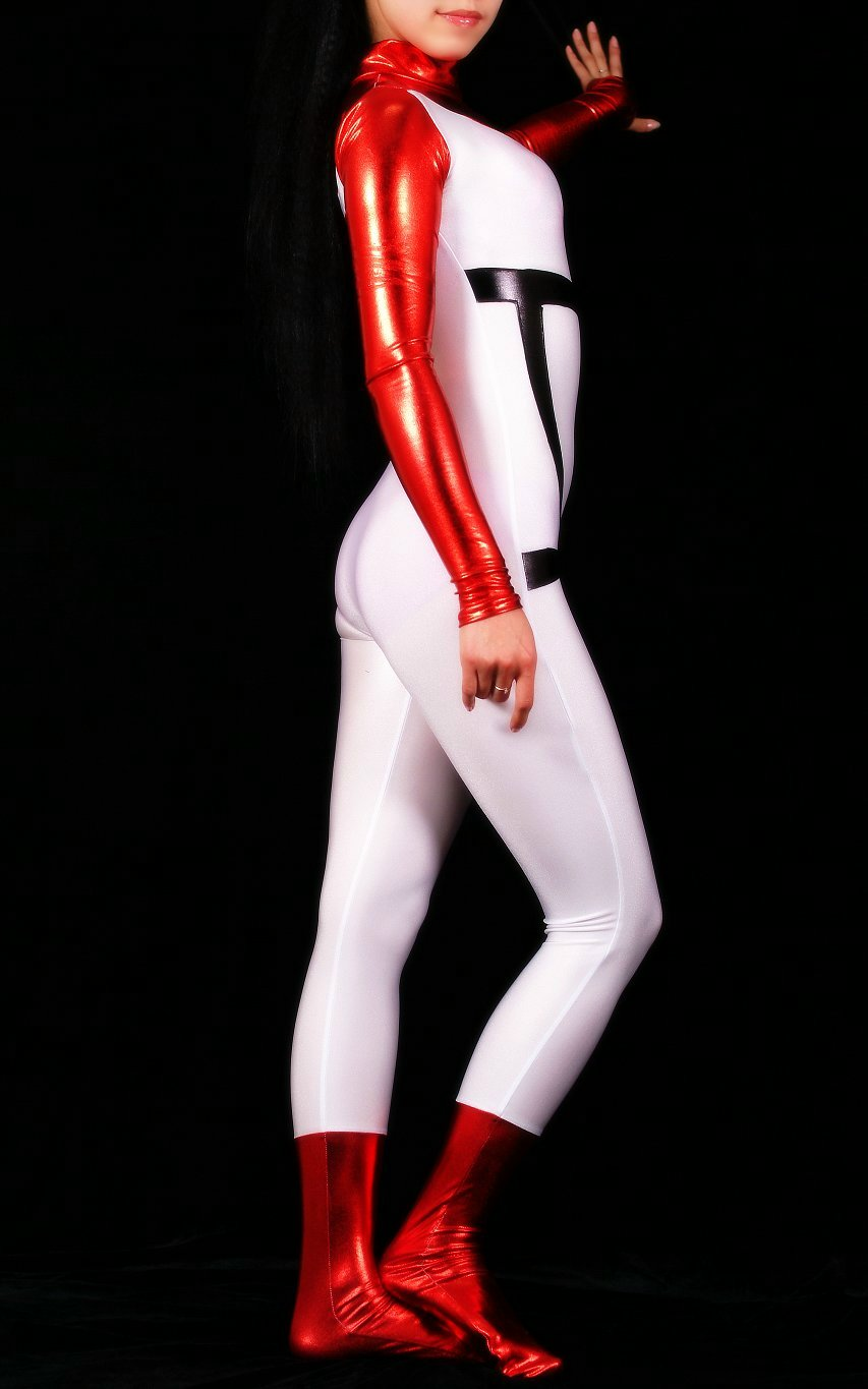 Red Sexy Halloween Costumes For Women Catsuit