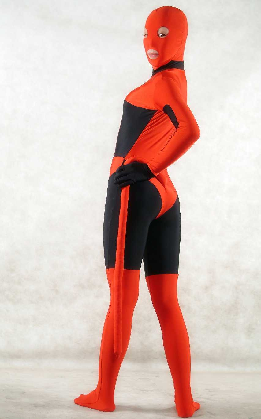 Red Sexy Halloween Costumes For Women Zentai
