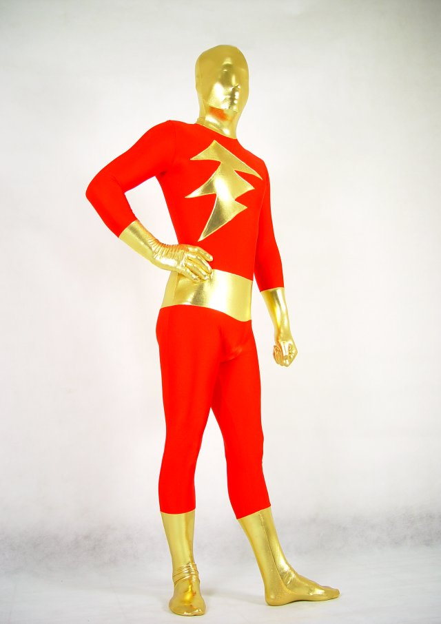 Red The Flash Halloween Costumes Zentai