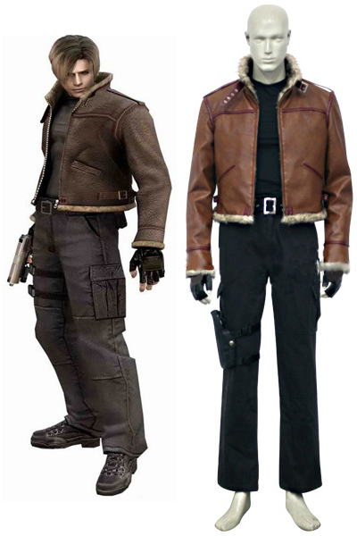 Resident Evil 4 Leon S. Kennedy Cosplay Costumes