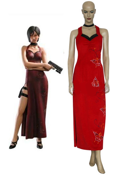 Resident Evil 4/5 Ada Wong Cosplay Costumes