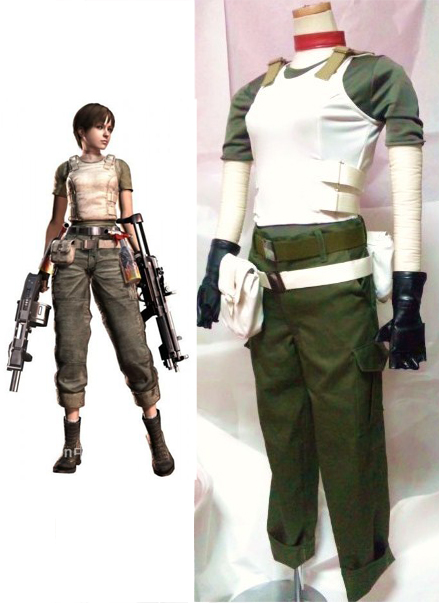 Resident Evil Rebecca Chambers Cosplay Costumes