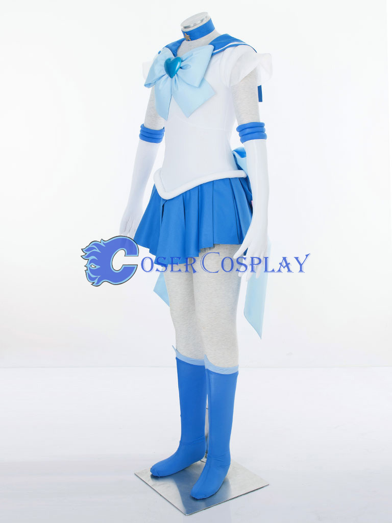 Sailor Moon Crystal Mercury Mizuno Ami Amy Anderson Cosplay Costume