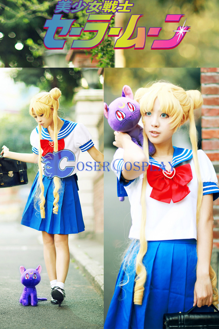 Sailor Moon Crystal Princess Tsukino Usagi Cosplay Costume