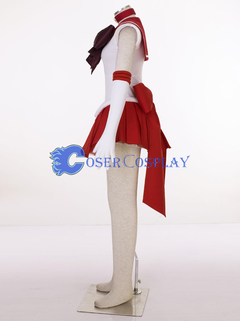 Sailor Moon Crystal Sailor Mars Hino Rei Cosplay Costume