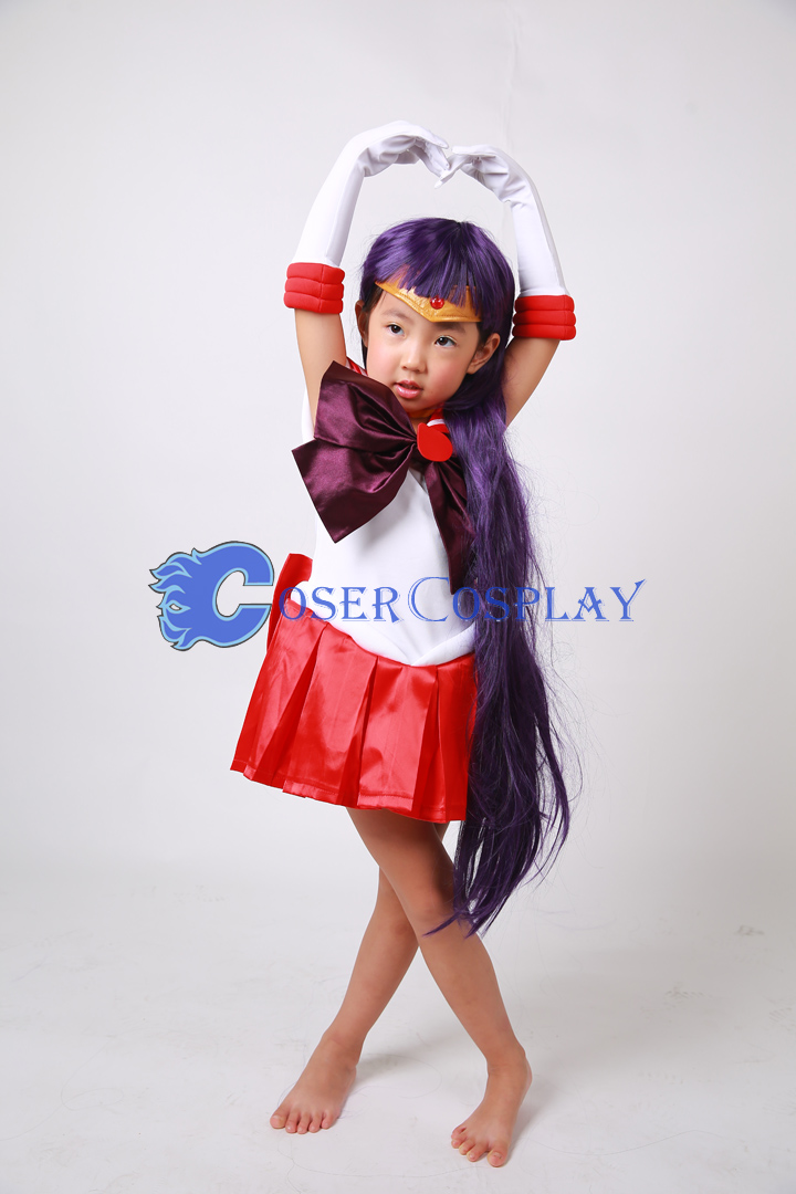 Sailor Moon Crystal Sailor Mars Hino Rei for Kids Cosplay Costume  sc 1 st  Cosercosplay.com & Sailor Moon Crystal Sailor Mars Hino Rei for Kids Cosplay Costume ...